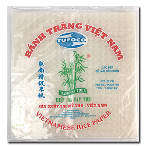 Bamboo Tree Rice Paper Deep Fry 22cm 400g