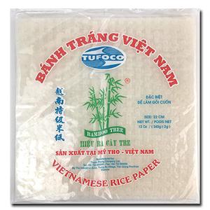 Bamboo Tree Rice Paper Deep Fry 22cm 400g