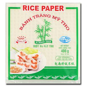 Bamboo Tree Rice Paper SpringRoll 22cm 400g