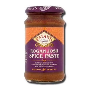 Patak's Rogan Josh Curry Paste Tomato Paprika 283g