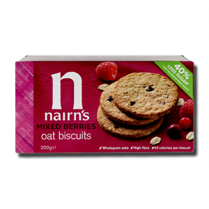 Nairn's Mixed Berries Oat Biscuits 200g