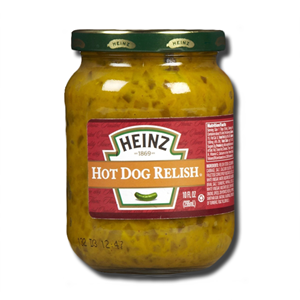 Heinz Hot Dog Relish 296ml