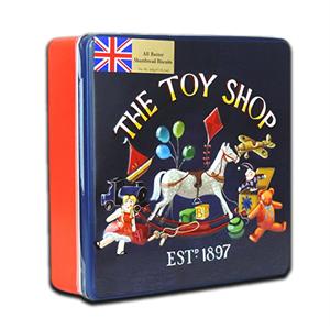 Grandma Wild's Embossed Square Toy Shop Tin 400g