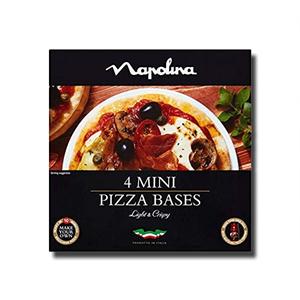 Napolina 4 Mini Pizza Bases