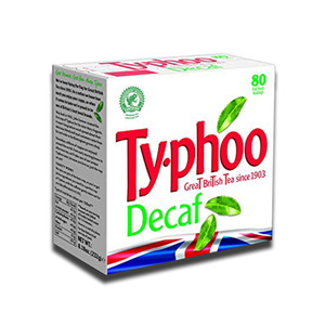 Typhoo Decaff 80's