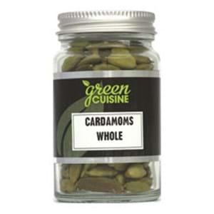 Green Cuisine Cardamons Whole Jar 35g