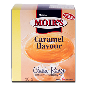 Moirs Instant Puddings Caramel 90g