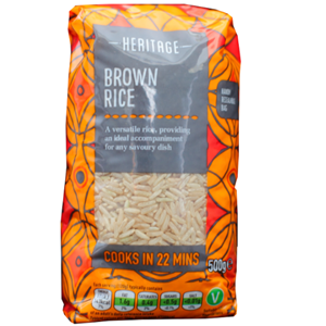 Heritage Brown Rice 500g