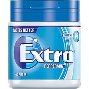 Wrigleys Extra Peppermint Sugar Free 60's