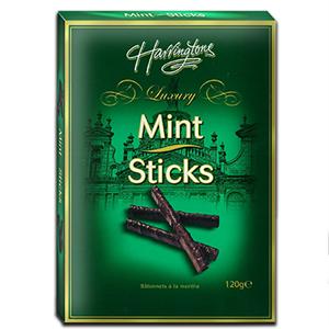 Ashleys Dark Chocolate Mint Sticks 120g