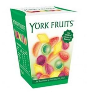York Fruits Fruit Jellies 125g
