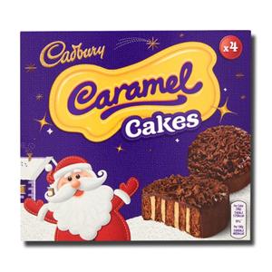 Cadbury Caramel Cakes 4' 152g