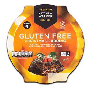 Matthew Walker Christmas Pudding Gluten Free 400g