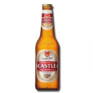 Castle Lager Bottle 340ml