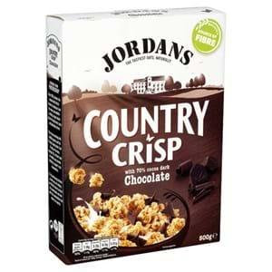 Jordans Country Crisp Dark Chocolate 500g