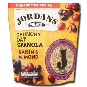 Jordans Crunchy Raisin and Almond 450g