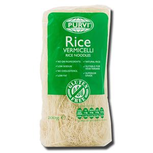Purvi's Rice Vermicelli 200g