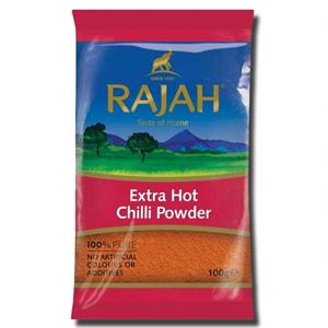 Rajah Extra Hot Chilli Powder 100g
