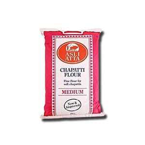 Asli Atta Medium Chapatti Flour 5Kg