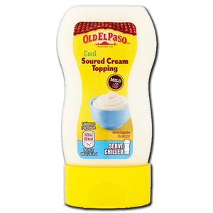 Old El Paso Soured Cream Topping 230g