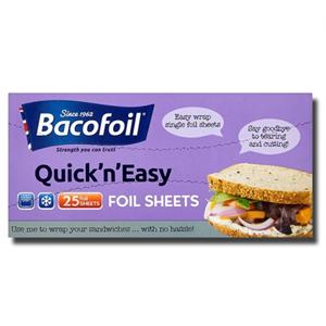 BacoFoil Foil Sheets 25'