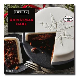 Iceland Luxury Christmas Fruit Cake 1Kg