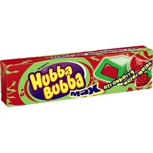 Hubba Bubba Strawberry Watermelon Gum 5'