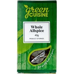 Green cuisine Whole Allspice 40g