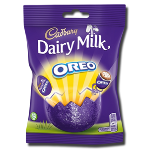 Cadbury Chocolate Mini Eggs Oreo Bag 72g