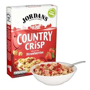 Jordans Country Crisp Strawberry 400g