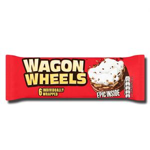 Burtons Wagon Wheels 6Pack 218.75g