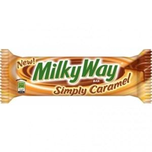 Milkyway simply caramel 54.1g