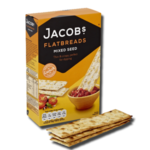 Jacob's Mixed Seed Flatbreads 150g