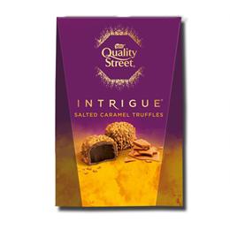 Nestlé Quality Street Intrigue Salted Caramel Truffles Carton 200g