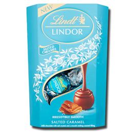 Lindt Lindor Salted Caramel Chocolate Balls 200g