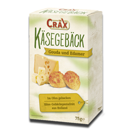 Crax Crackers Cheese and Seeds 70g