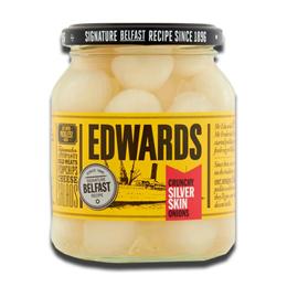 Edwards Crunchy Silver Skin Onions 350g