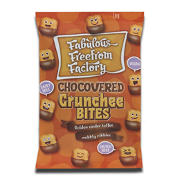 Fabulous Free From Factory Crunchee Bites Chocovered 65g