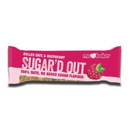 Mabaker Flapjack Raspberry No Added Sugar 50g