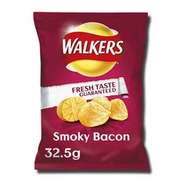 Walkers Crisps Smokey Bacon 32,5g