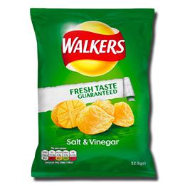 Walkers Crisps Salt Vinegar 32 / 5g