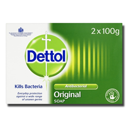 Dettol Bar Soap Twin 200g