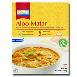 Ashoka Aloo Matar 280g